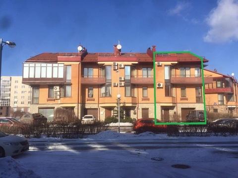 4-этажный таунхаус из 9 комнат В 2 км от города на Береговой ул 21к1 - Фото 2