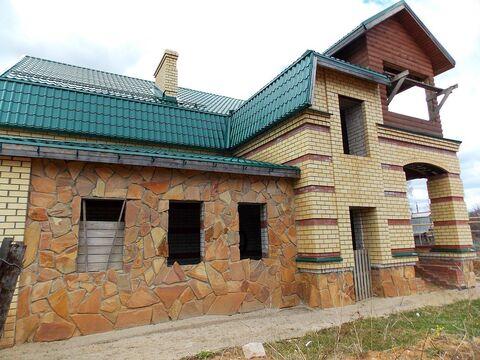 Новый кирпичный двухэтажный дом-коттедж на Волге в г. Плес - Фото 2