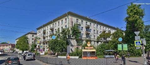 Трехкомнатная квартира с видом на набережную Черной речки - Фото 1