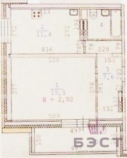 Квартира, ул. Красных Командиров, д.17 - Фото 1