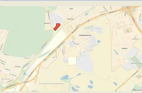 Продам земельный участок рядом с МКАД с промышленной базой - Фото 1