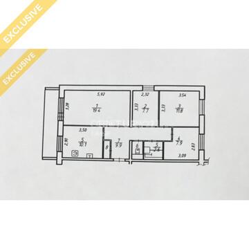 Продажа 4-к квартиры на 9/10 этаже на б. Интернационалистов, д. 6/4 - Фото 2