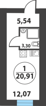 Продажа квартиры, Боровский, Тюменский район, Ул. Мира, Купить квартиру Боровский, Тюменский район по недорогой цене, ID объекта - 314385074 - Фото 1