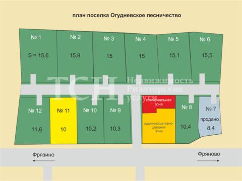 Участок, Щелковский, п Огудневского лесничества - Фото 2