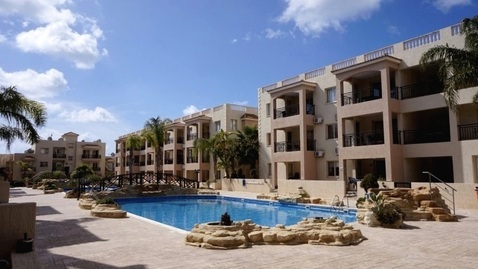 Великолепный двухкомнатный Апартамент в 800м от пляжа в Пафосе - Фото 1