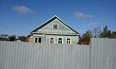 Дом 1-этажный дом 70 м2 (бревно) на участке 8 сот - Фото 1