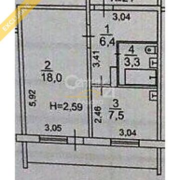Продается просторная однокомнатная квартира по ул.Радищева, д. 3 - Фото 2