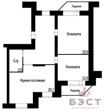 Квартира, ул. Шейнкмана, д.100 - Фото 1