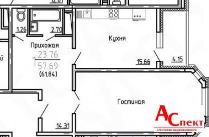 Крупногабаритная квартира на… - Фото 1