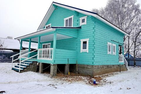 Продается новый дом 170 кв.м, в деревне, участок 18 соток. - Фото 2