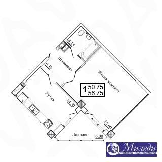 Объявление №61449737: Квартира 1 комн. Батайск, ул. Огородняя, 1005,