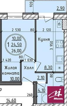 Продажа 1комн.кв. в Родниковой Долине - Фото 3