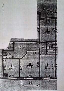 Продам трехкомнатную квартиру в Ярославле - Фото 4
