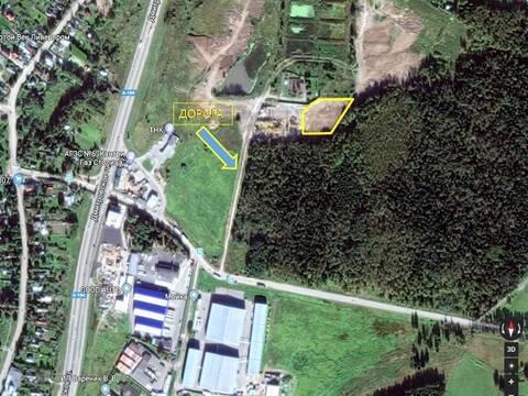 Земельный участок 60 соток, под коммерческие цели - Фото 1