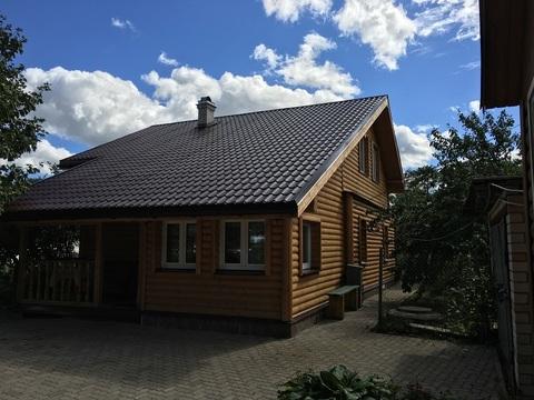 Зимний двухэтажный дом, пос.Молосковицы, Волосовский район - Фото 1