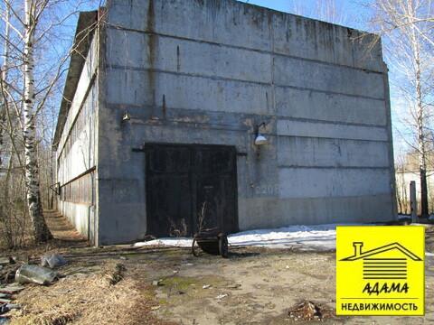 Здание с кранбалкой 3т отдельный въезд эл-во, газ - Фото 1