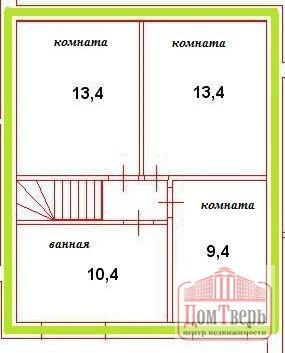 Продаю Дом 112.00 кв.м. Заволжский п площадь участка: 6.00 сот. - Фото 4