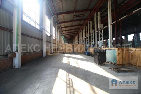 Аренда помещения пл. 1000 м2 под склад, Щелково Щелковское шоссе в . - Фото 1