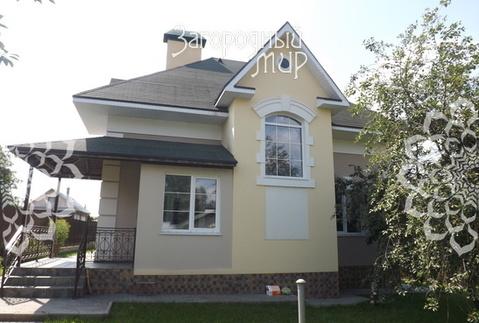 Новый дом в красивой деревне рядом с озером Круглое. - Фото 1