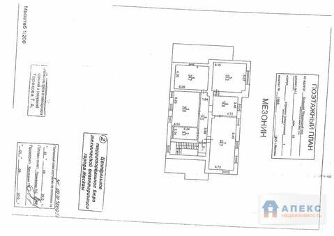 Аренда офиса 448 м2 м. Смоленская апл в особняке в Арбат - Фото 3