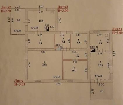 Продам жилой дом в центре Липецка - все коммуникации - Фото 3