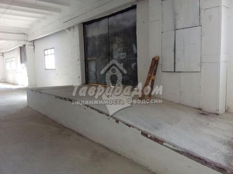 Сдам склад 1000 кв.м. с площадкой 4500 кв.м. в п. Приморский, Феодосия - Фото 4