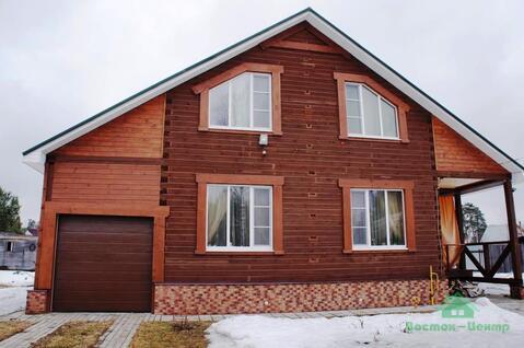 Новый дом в 3 уровня в дер.Мележи - 70 км Щелковское шоссе - Фото 2