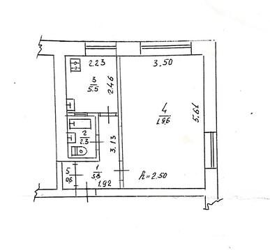 1-к. кв 32 м2 Евпатория - Фото 1