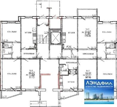 3 комнатная квартира, Уфимцева, 3б - Фото 3