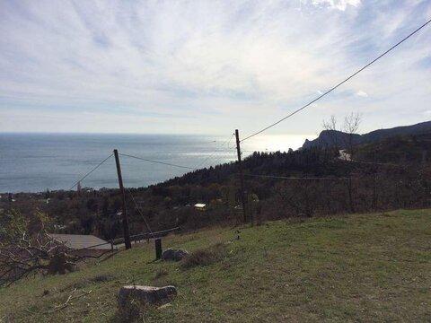 Участок в Алупке с панорамным видом на море и горы - Фото 3