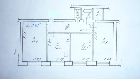 3-х комнатная в Некрасовке - Фото 1