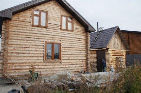 Деревянный дом с видом на оз. Смолино - Фото 2