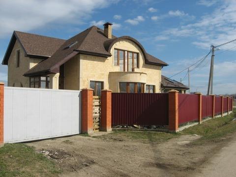 Дом в пригороде Краснодара, Козет ул.Степная - Фото 1