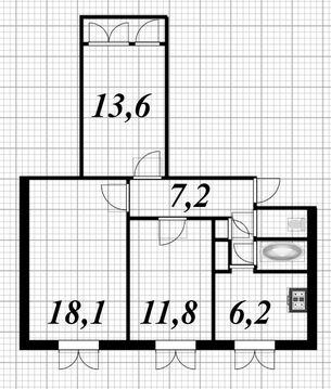 Продажа 3-х комнатной квартиры за малую цену - Фото 5