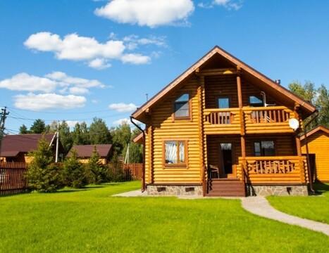 Дом 160 м2 с Газом, Озеро, Детские площадки, кп Лесные Озёра - Фото 1