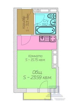 Объявление №58597077: Квартира 1 комн. Ростов-на-Дону, Гарнизонный, 1А,