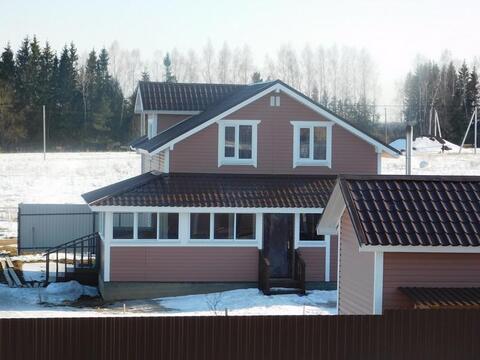 Дом из бруса 145 кв.м. на земельном участке 14 соток. Киевское шоссе - Фото 3