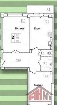 Продажа квартиры, Писковичи, Улица Гецентова - Фото 5
