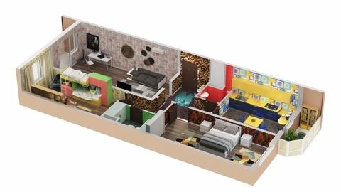 К продаже предлагается 3-х комнатная квартира повышенной комфортности. . - Фото 2