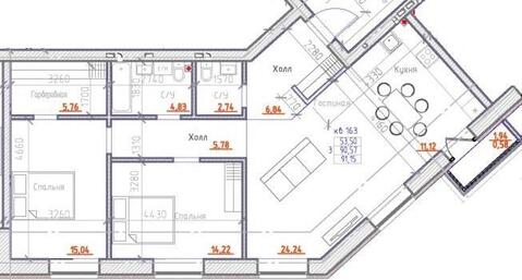 Продажа квартиры, Красноярск, Микрорайон Преображенский - Фото 2