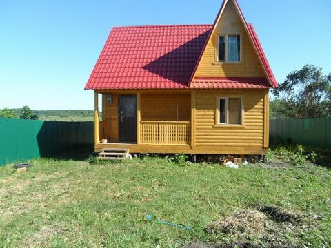 Дом рядом с водохранилищем в Рыбновском районе, д.Глебово Городище. - Фото 1