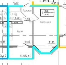 1-к квартира в новом доме на пр. Победы - Фото 2