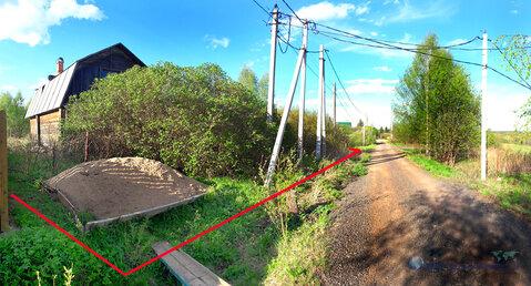 Оформленный участок с домом в деревне Никиты Волоколамского района МО - Фото 1