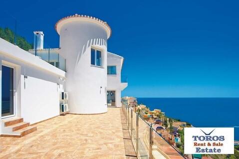 Новая элитная вилла у моря в Испании, Хавея - Фото 1