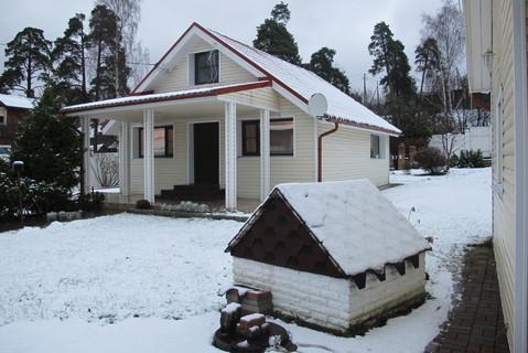 Современный жилой дом. ухоженный участок. черта Г. выборга. - Фото 1