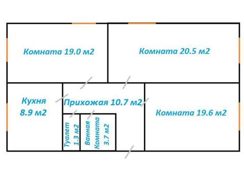 Продажа квартиры, Колпино, м. Купчино, Ул. Октябрьская - Фото 2