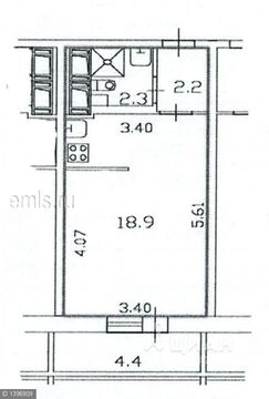 Продажа квартиры, м. Московская, 1-й Предпортовый проезд