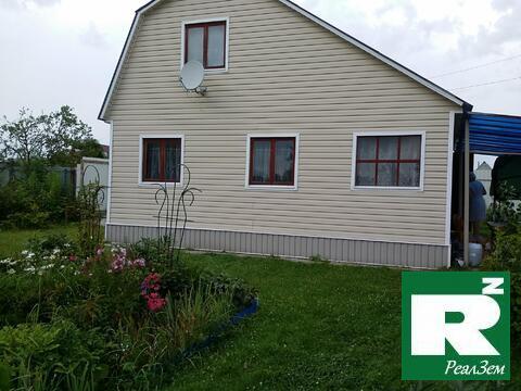 Продается двухэтажный дом 61 квадратных метров в деревне Заречье. ПМЖ. - Фото 1