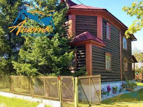 Бревенчатый дачный дом около Обнинска. - Фото 1