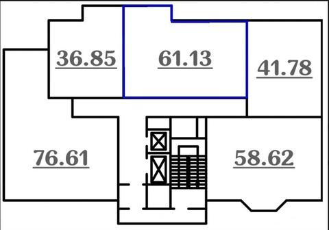 Продам двухкомнатную квартиру в Дашково-Песочне. - Фото 2